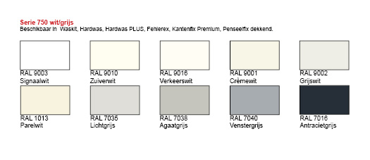 kantenfix premium bijwerkstift lakstift seriedoos 750 met 10 stiften in 10 ral. Black Bedroom Furniture Sets. Home Design Ideas