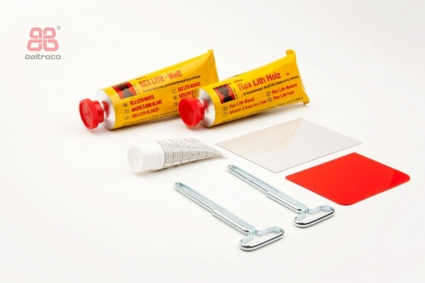Rexlith DUO hout & wit (Kö 150)